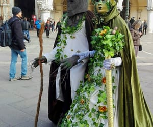 carnival, italy, and maschera image