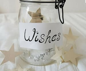wish, stars, and jar image