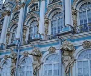 architecture, blue, and babyblue image