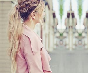 blonde, pink, and girls image