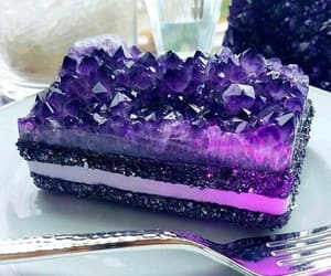 cake, food, and crystal image