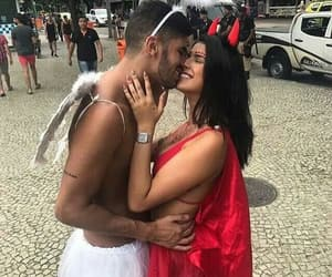 couple, carnaval, and Relationship image
