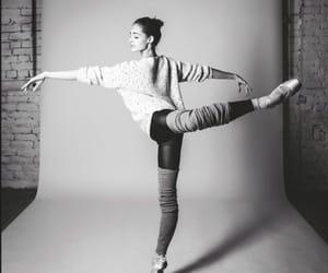 attitude, ballerina, and ballet image