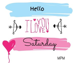 february, heart, and saturday image