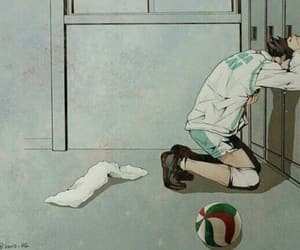 anime, volley, and oikawa image