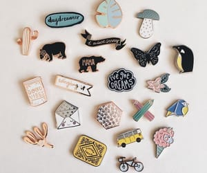 accessories, daydream, and pins image