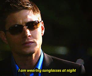 asshole, csi, and dean winchester image