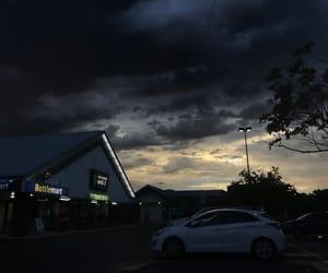 australia, clouds, and dark image