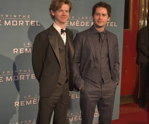 premiere, thomas, and dylan o'brien image