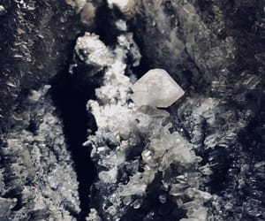 background, cave, and diamond image