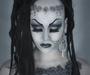 80's, deathrock, and goth image