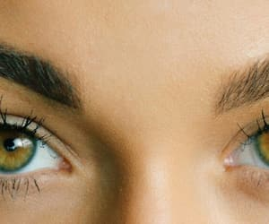 beautiful, brown, and brown eyes image
