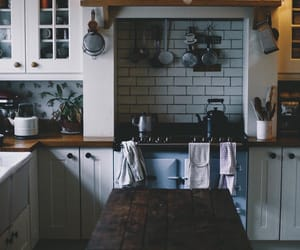 interior decorating, kitchen, and farmhouse style image