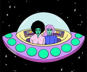 alien, aliens, and art image