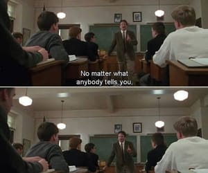 dead poets society, quotes, and movie image