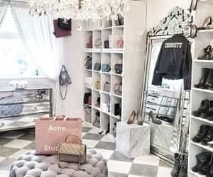 closet, fashion, and home image
