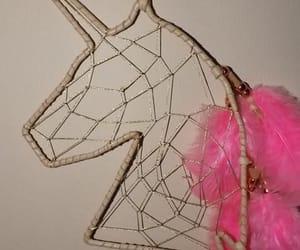 dreamer, pink, and unicorn image