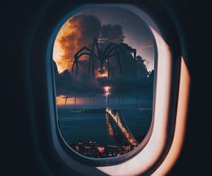 Dream, plane, and real image