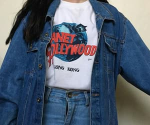 jeans, 90s, and girl image
