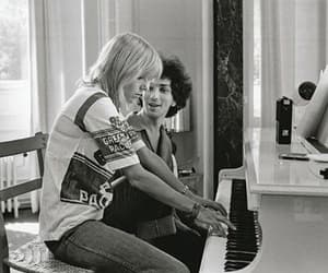 piano, michel berger, and black and white image