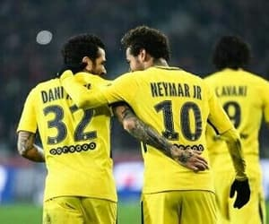 dani alves, paris, and neymar image