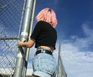 pink, fashion, and grunge image