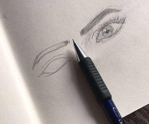drawing, sketch, and sketches image
