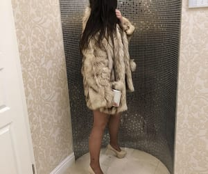 brunette, hair, and heels image