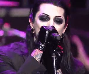 concert, motionless in white, and gif image