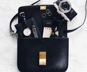 bag, black, and camera image