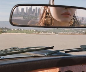 car, aesthetic, and earrings image