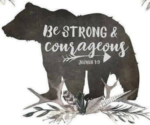 alone, courage, and faith image