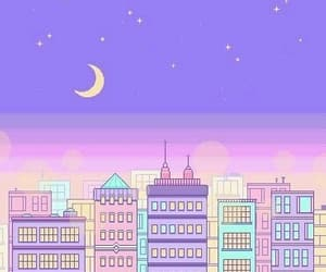 wallpaper, purple, and pixel image