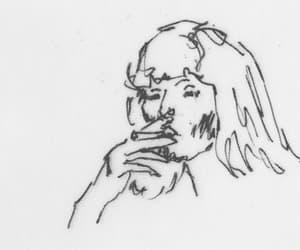 gif, smoke, and cigarette image