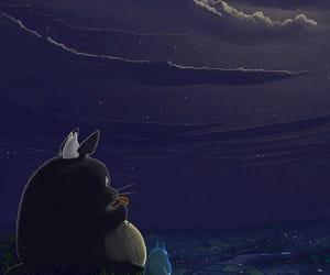 totoro, art, and anime image