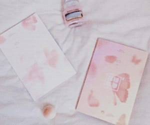 bts, pink, and aesthetic image