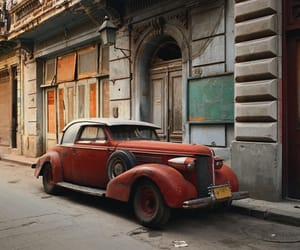 car, dreamy, and vintage image