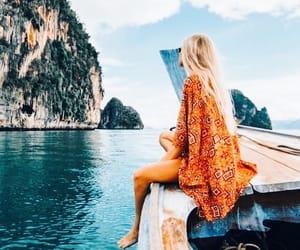 girl, wanderlust, and adventure image