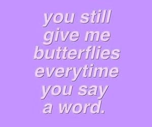 aesthetic, quotes, and purple image