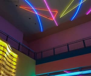 neon, aesthetic, and colors image