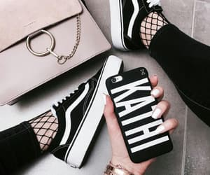 bag, sneakers, and fashion image