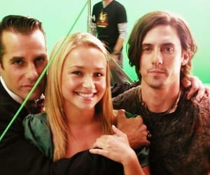 claire bennet, peter petrelli, and nathan petrelli image