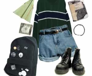 Polyvore, retro, and clothes image