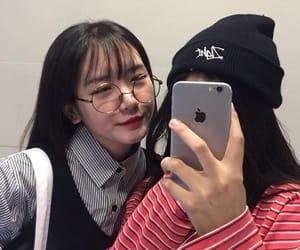 beautiful, couple, and korean image