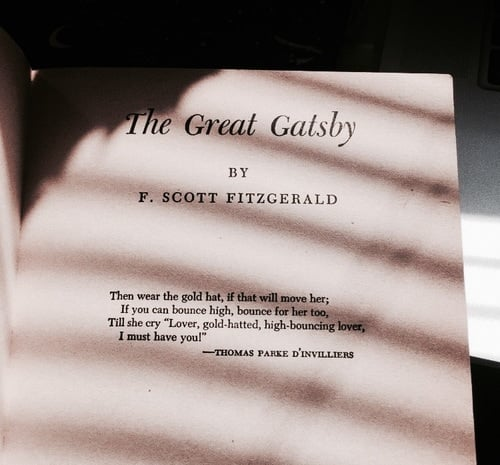 book, the great gatsby, and quotes image