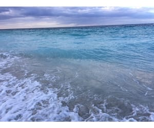 beach, blue water, and caribe image