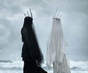 black, white, and dark image