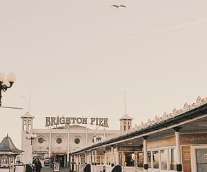 beautiful, brown, and pier image