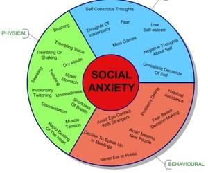 anxiety, social anxiety, and social image
