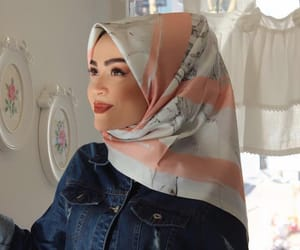 beauty, hijab, and hijabista image